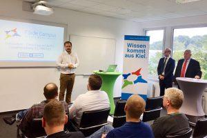 Förde Campus GmbH | Henning Heinemann begrüßt zu Fisch & Grips | Weiterbildung Kiel