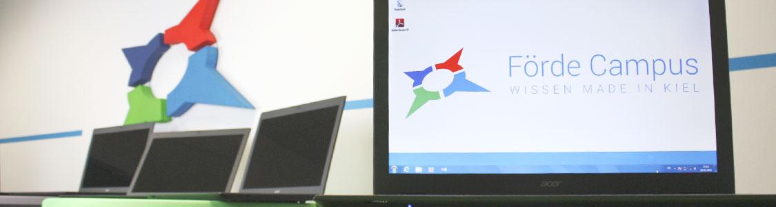 Förde Campus Kiel | Laptop mieten | Mobiles Klassenzimmer | Weiterbildung Schleswig-Holstein