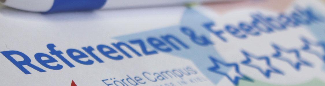Förde Campus | Referenzen und Feedback | Kundenmeinungen und Erfahrungen | Weiterbildung Schleswig-Holstein