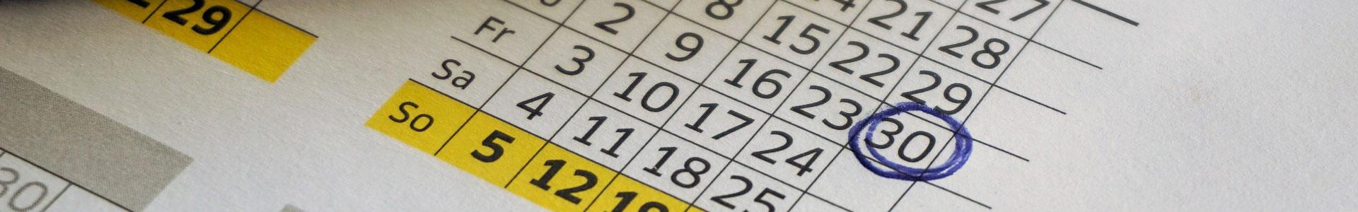 Weiterbildung Kiel | Kalender | Garantietermine | Termine mit Durchführungsgarantie | Förde Campus